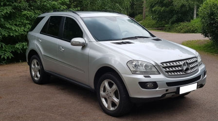 Мерседес ML 320 CDI 4 Matic, г.н. Н 190 РВ 96